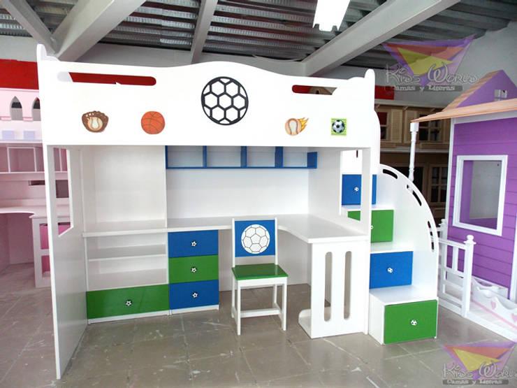 Literas y muebles juveniles de camas y literas infantiles - Camas divertidas para ninos ...