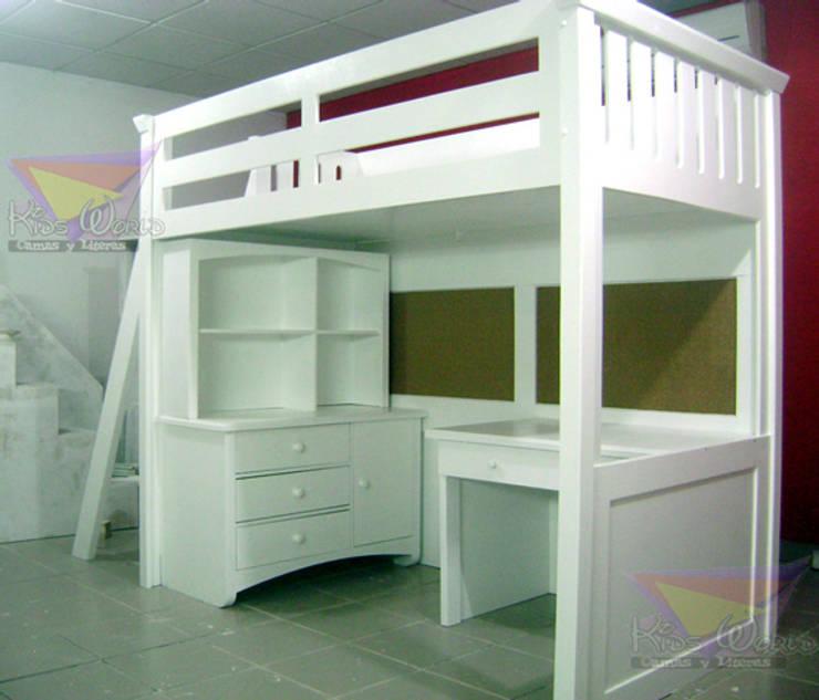 Literas y muebles juveniles de camas y literas infantiles - Escalera cama infantil ...