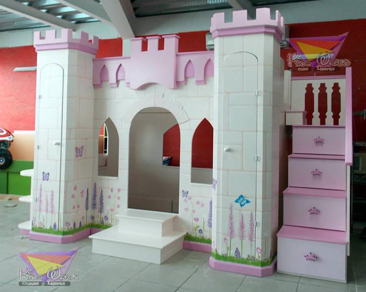 Recamaras para princesas de camas y literas infantiles for Literas infantiles para ninas