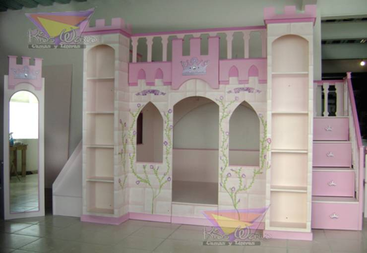 Recamaras para princesas de camas y literas infantiles - Habitaciones infantiles de ninas ...