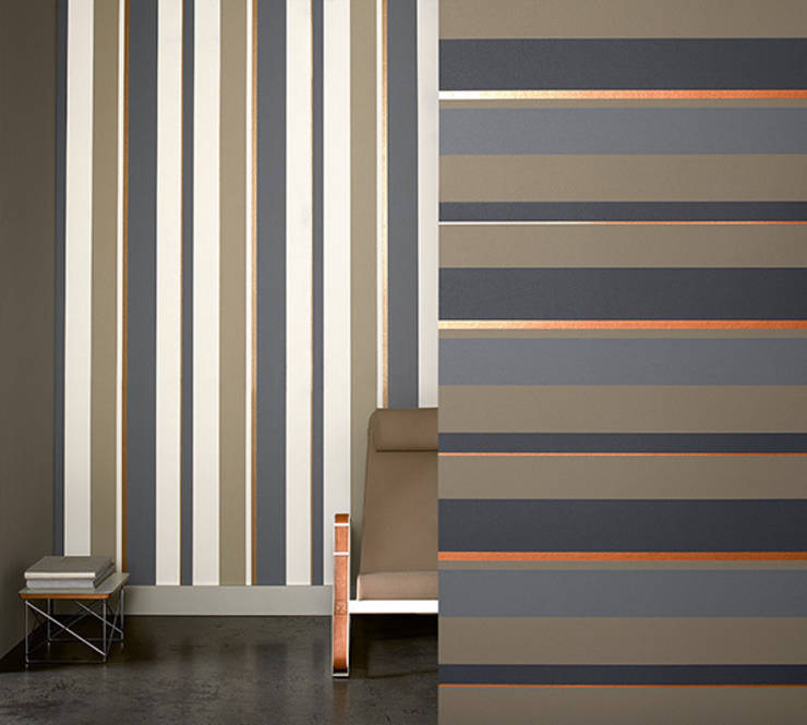 Papel pintado de rayas horizontales o verticales - Papeles pintados rayas verticales ...