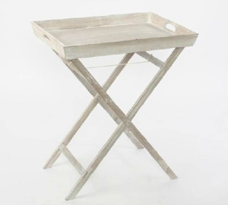 Mueble auxiliar de estilo r stico rom ntico provenzal de for Estilo rustico provenzal