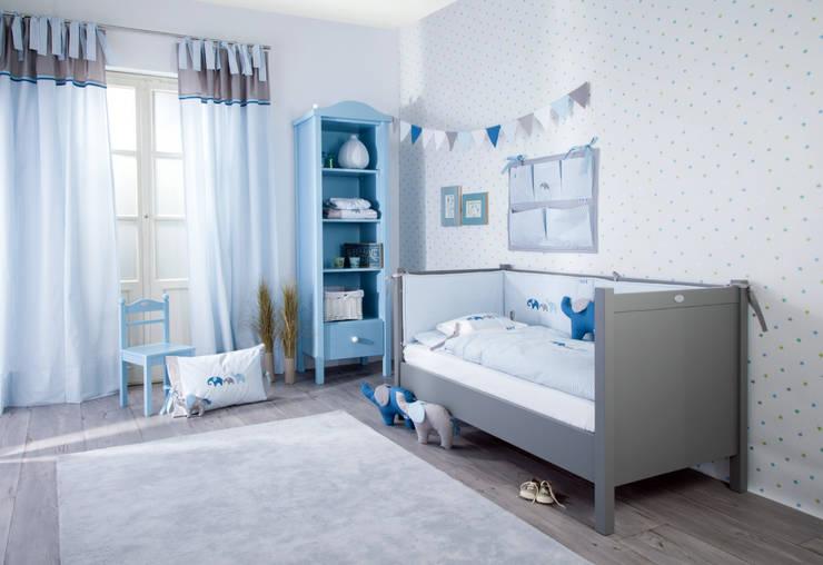 dormitorios infantiles rosa para nias y azul para nios