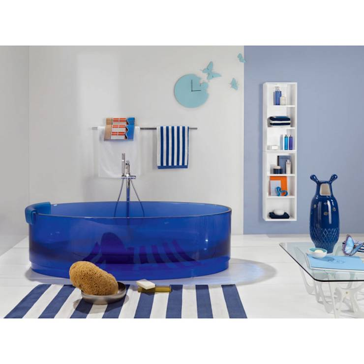 ab in die freistehende badewanne 10 coole designs. Black Bedroom Furniture Sets. Home Design Ideas