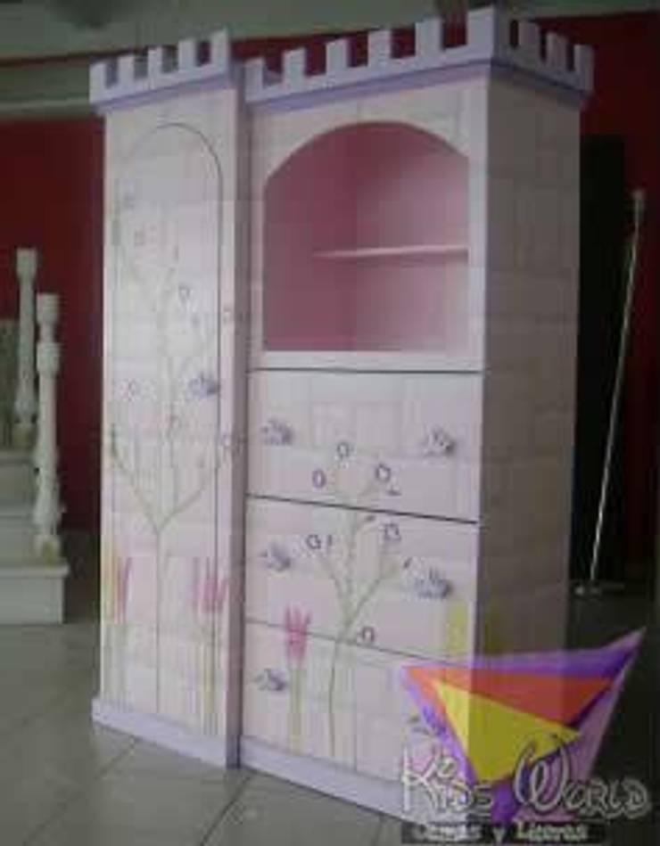 Muebles para el hogar de camas y literas infantiles kids for Roperos para cuartos de ninas