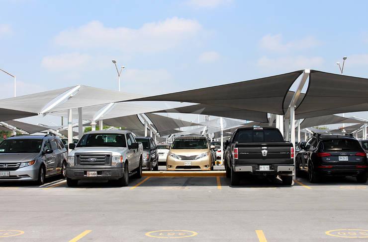 Modelo Hypar Wave: Aeropuertos de estilo translation missing: mx.style.aeropuertos.moderno por Velarium Shadeports