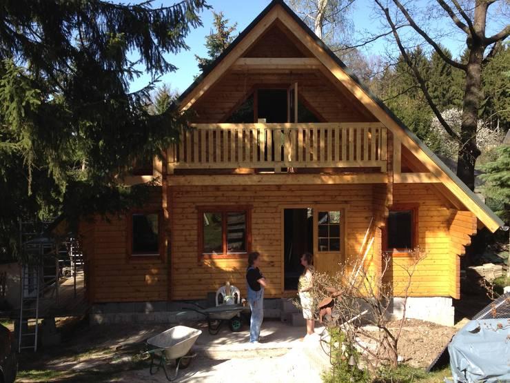 Ferienhaus norwegen von thule blockhaus gmbh homify for Norwegen haus