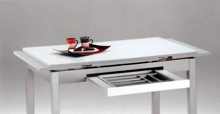 Muebles auxiliares de cocina aqu los indispensables for Tavolo cucina con cassetto