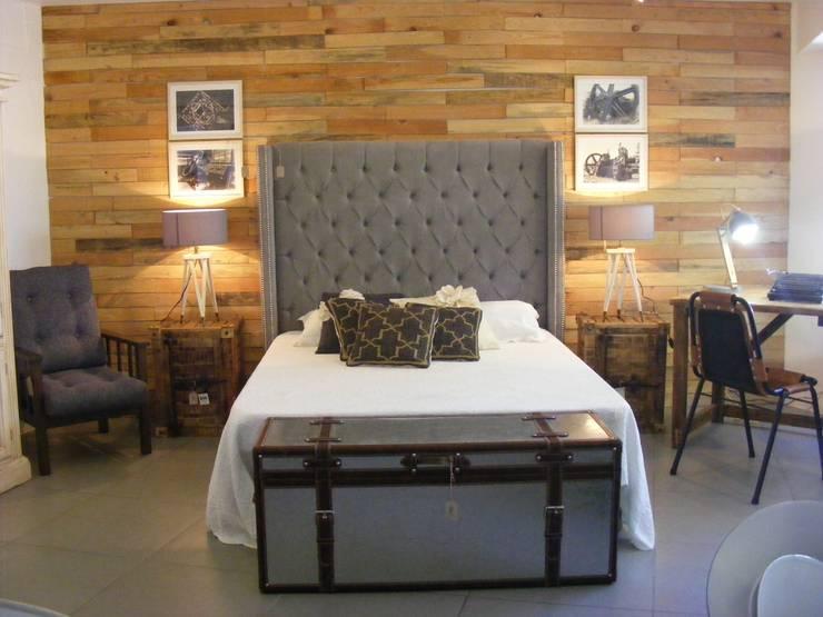 Dormitorios de estilo translation missing: pe.style.dormitorios.industrial por Noelia Ünik Designs