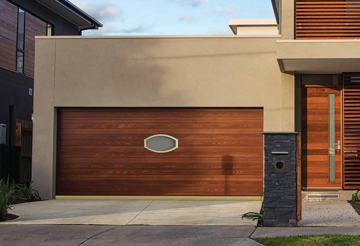 10 puertas de garaje modernas y sensacionales - Garajes de metal ...