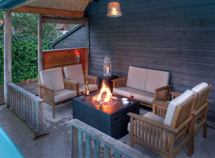 feuerstellen f r garten und terrasse. Black Bedroom Furniture Sets. Home Design Ideas