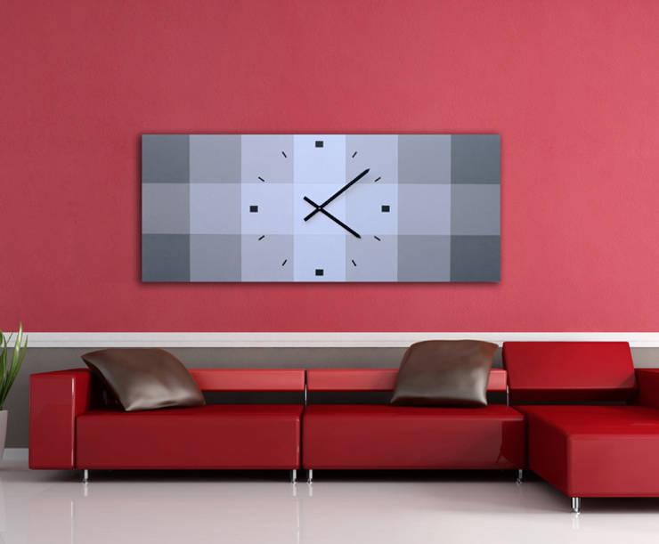 Relojes de pared dise o moderno de grecar idea sl homify - Reloj de pared de diseno ...