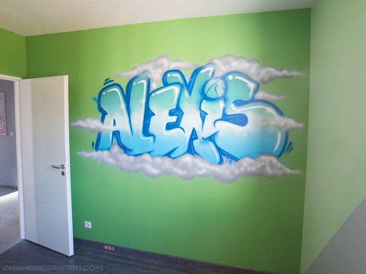 chambre graffiti de barograff homify. Black Bedroom Furniture Sets. Home Design Ideas