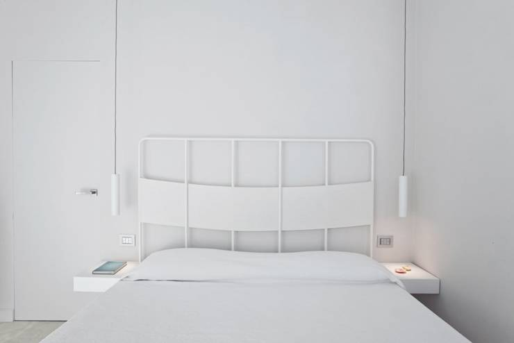 Come avere una casa dall arredamento total white for Camera da letto total white