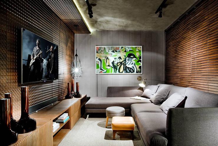 Decoracion Sala De Tv Pequena ~ 30 salas de televisión, ¡ideales para casas pequeñas!