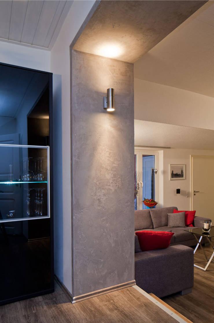 Wohnraum-Wandgestaltung mit Marmorputz, Buchholz/Westerwald von ...
