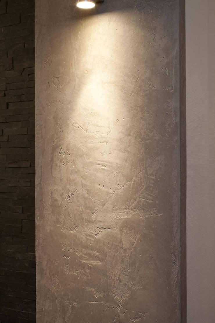 Wohnraum wandgestaltung mit marmorputz, buchholz/westerwald von ...