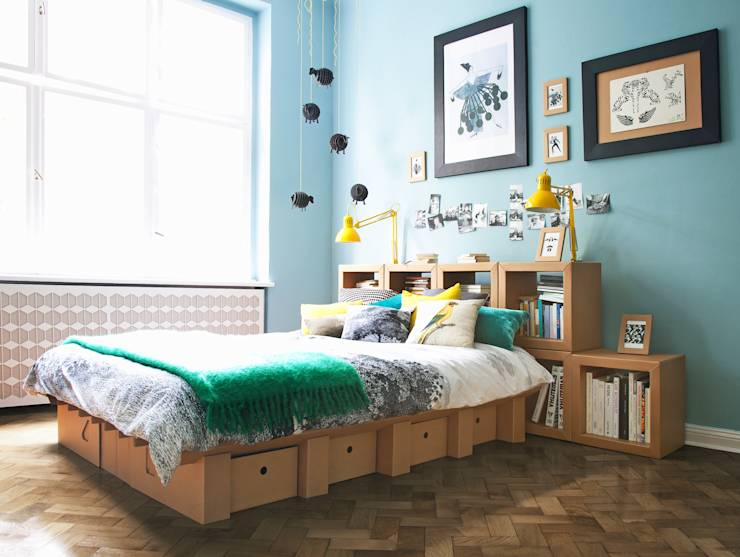 6 wundersch ne betten mit viel stauraum. Black Bedroom Furniture Sets. Home Design Ideas