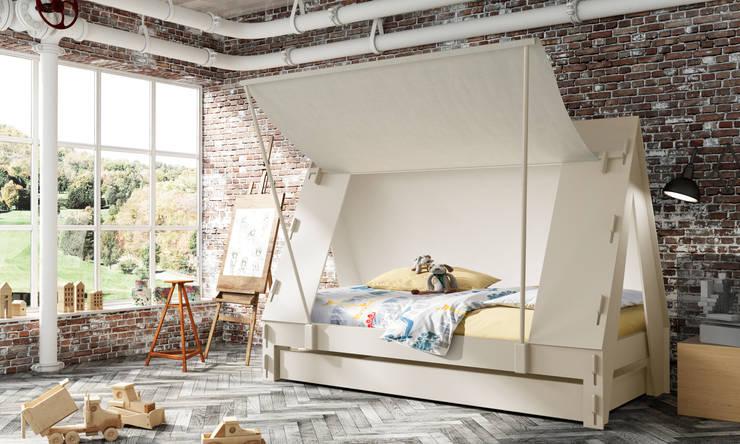 Individuelle Kinderbetten Design Wohnwagen Mathy Bols Belgien