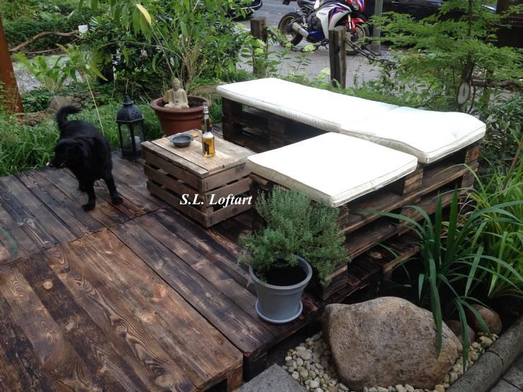 10 dise os r sticos para jardines peque os for Homify jardines pequenos