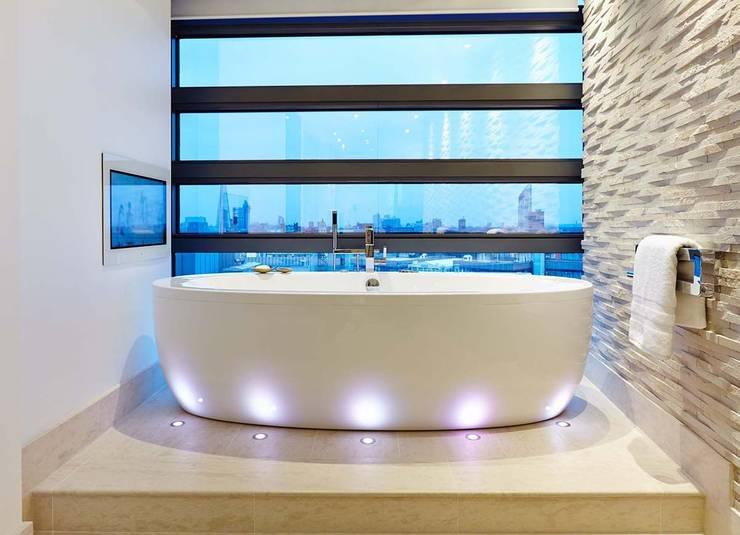 River thames london modern bathroom by residence interior design ltd