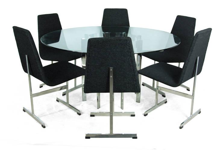 Il tavolo in cristallo raffinato ed elegante - Tavolo cristallo rettangolare usato ...