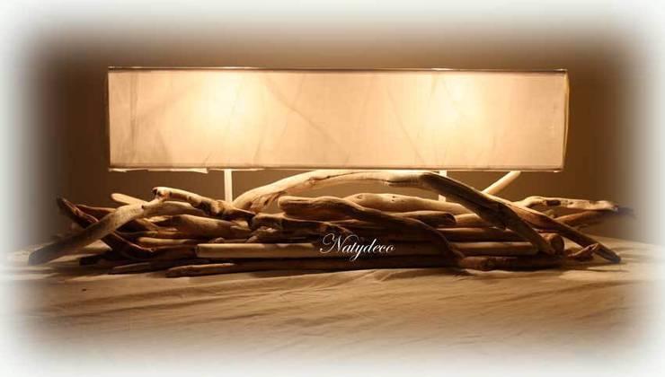 D coration en bois flott par natydeco homify for Decoration bois flotte galet