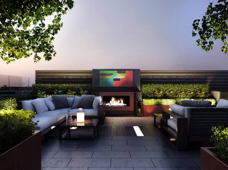 15 schitterende en sensationele manieren om de buitenkant van je huis te verlichten - Moderne buitenkant indeling ...