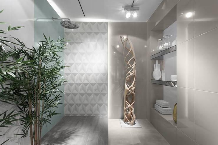 LIVE - Restaurante e SPA Showroom LoveTiles: Casas de banho modernas por Ana Rita Soares- Design de Interiores