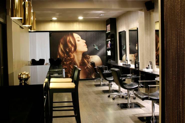 Dise o de peluquer as for Iluminacion para peluquerias