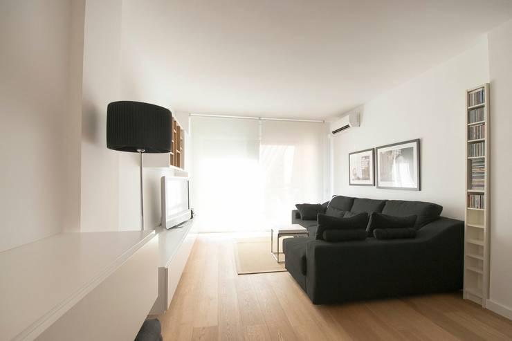 Minimalismo dise o de interiores en blanco y negro for Disenos de interiores en blanco y negro