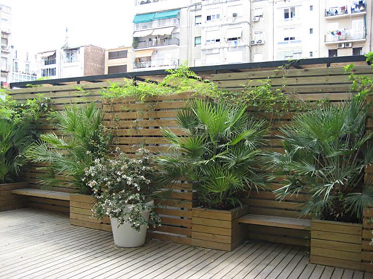 15 jardineras que se ver n hermosas en patios no muy grandes - Jardineras prefabricadas ...
