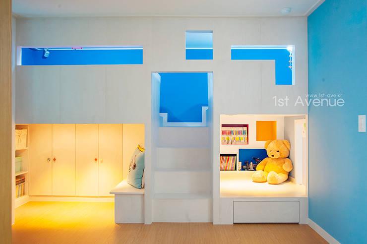똑똑한 기능성 가구, 이층 침대 아이디어