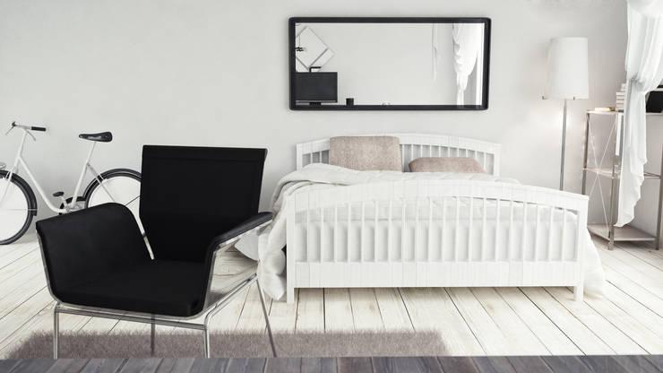 Recámaras de estilo minimalista por V Multimedia