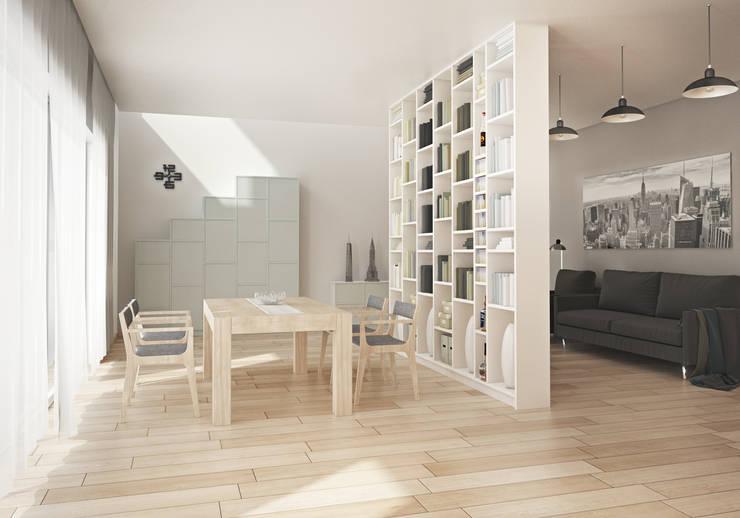 Salones de estilo moderno de Pickawood GmbH