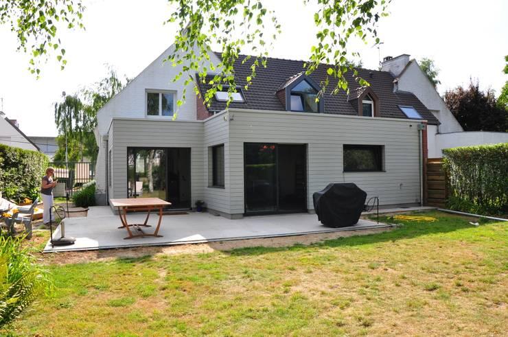 Comment construire une extension de maison for Id maison bois