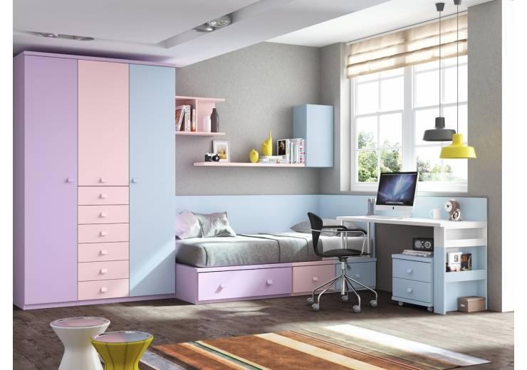 Dormitorios juveniles modernos de la inocencia a la madurez - Dormitorios infantiles modernos ...