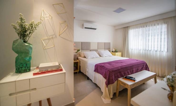Ideias para decoração de quartos ~ Quarto Casal Cor Branco Gelo