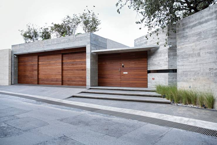 7 estilos de fachadas que o inspirar o a projetar sua casa for Casas minimalistas grandes