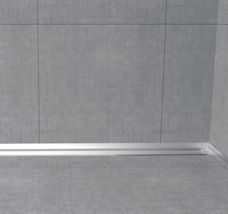 Glass profile i profili in acciaio inox per box doccia di - Profili piastrelle bagno ...