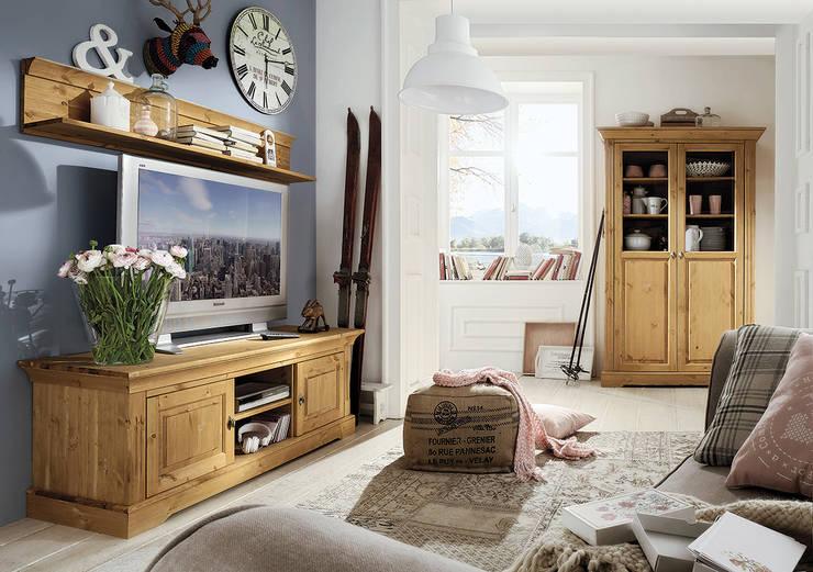 Muebles para televisi n 10 ideas sensacionales - Muebles rusticos para tv ...