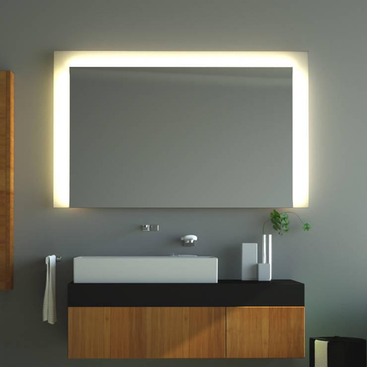 badspiegel mit hinterleuchtung von schreiber licht design. Black Bedroom Furniture Sets. Home Design Ideas