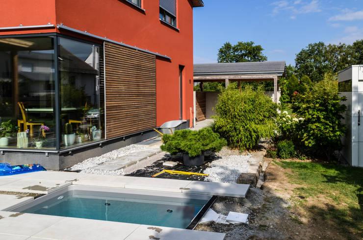 Wat meersalzwasser tauchbecken minipool von design - Mini pool terrasse ...