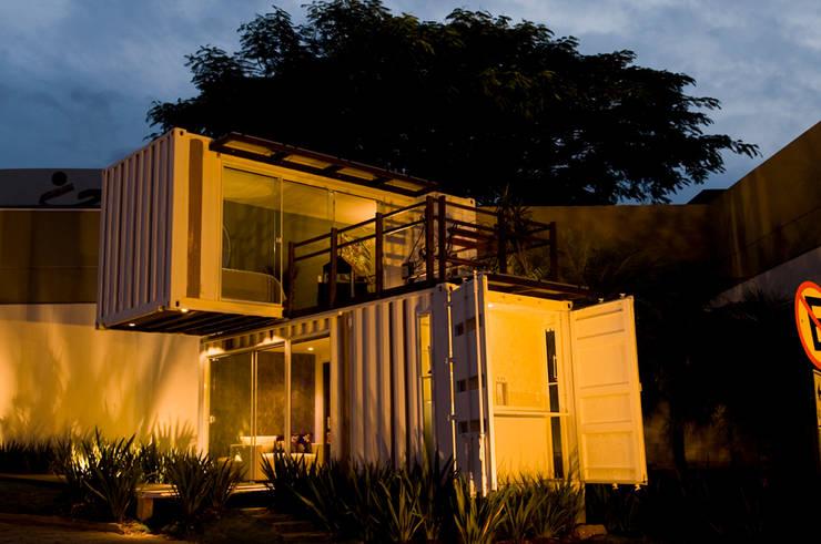 Container de r ve pour tous for Habitat minimaliste