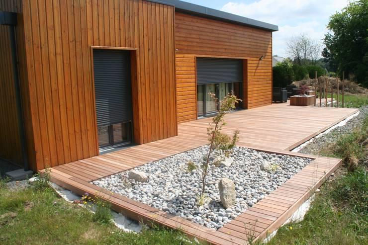 Aménagement terrasse esprit Zen: Jardin de style de style Asiatique ...