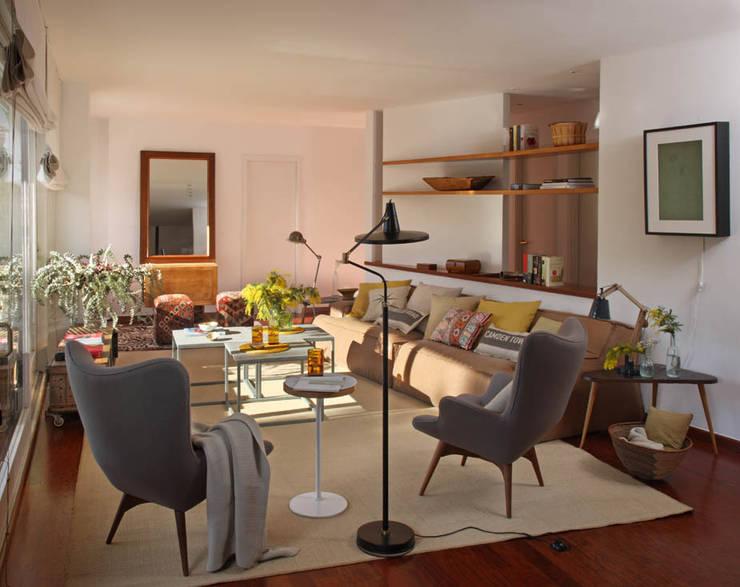 5 interiores de estilo escandinavo - Salones estilo escandinavo ...