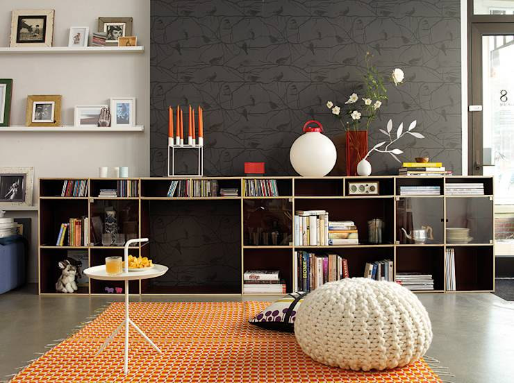 como organizar com arm rios abertos. Black Bedroom Furniture Sets. Home Design Ideas