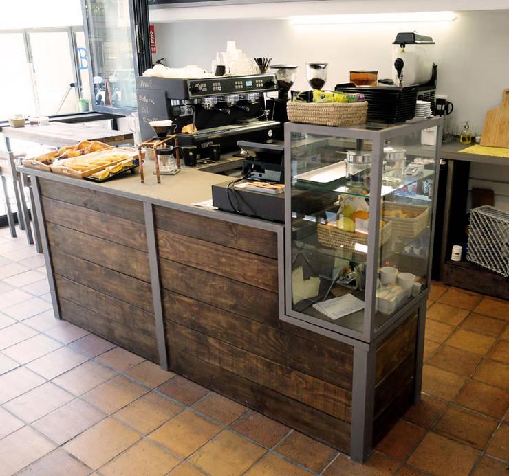 Mobiliario cafeter a de ping homify for Mobiliario cafeteria