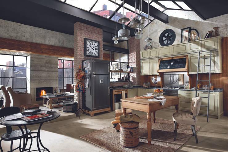 cucine stile loft ~ il meglio del design degli interni - Cucine Loft