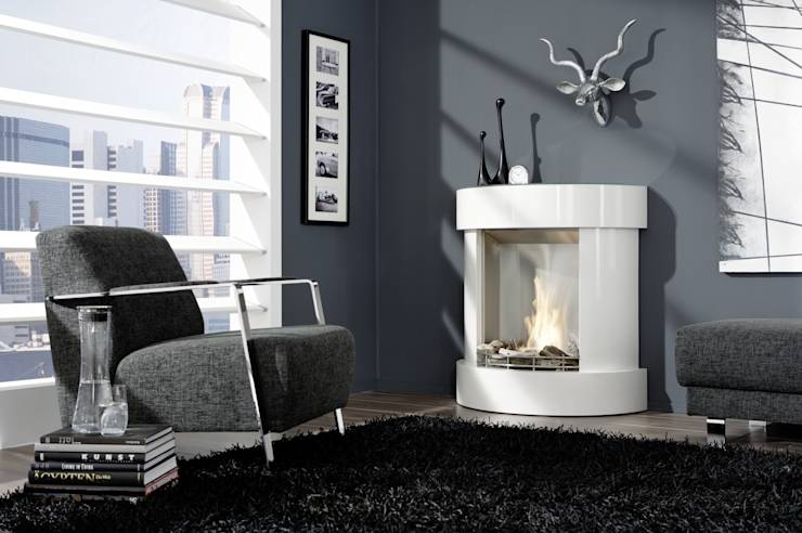 moderne kamine elektrokamine ethanolkamine von kamin design gmbh co kg homify. Black Bedroom Furniture Sets. Home Design Ideas
